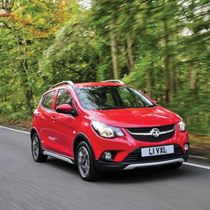 Vauxhall's rugged VIVA ROCKS