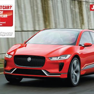 jaguar I-PACE nominated for 2018 What Car? Readers Award