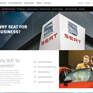 SEAT launches new fleet section of website