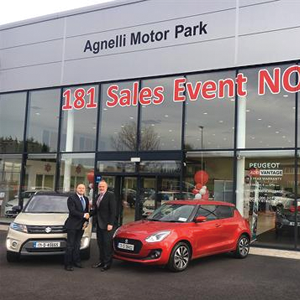 Suzuki Ireland partners with Agnelli Motor Park
