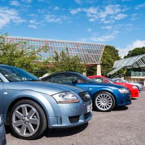 Audis at Beaulieu 2018