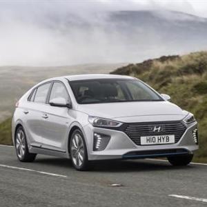 Hyundai IONIQ named UK's Best Hybrid