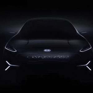 Kia Motors new all-electric concept car teaser