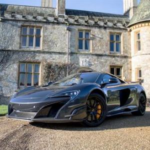 McLaren supercar roars in as new Beaulieu exhibit