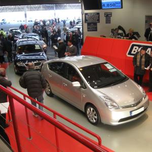BCA Auction Prius