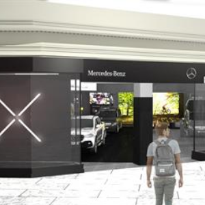 Mercedes-Benz Vans Pops-Up At intu Trafford Centre