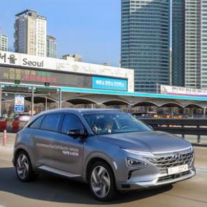 NEXO Autonomous Fuel Cell Electric Vehicle Showcase