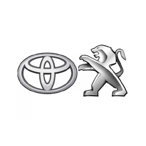 Peugeot and Toyota logo