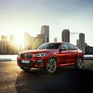 The new BMW X4 M40d