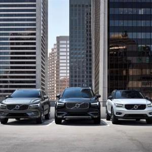 Volvo Cars SUV Line up fleet