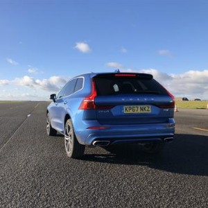 Volvo XC60 demonstrating Lane Keep Assist technology