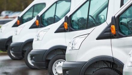 UK new van registrations