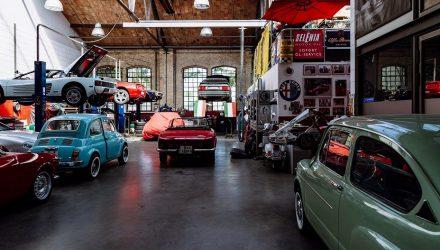 MOT garages