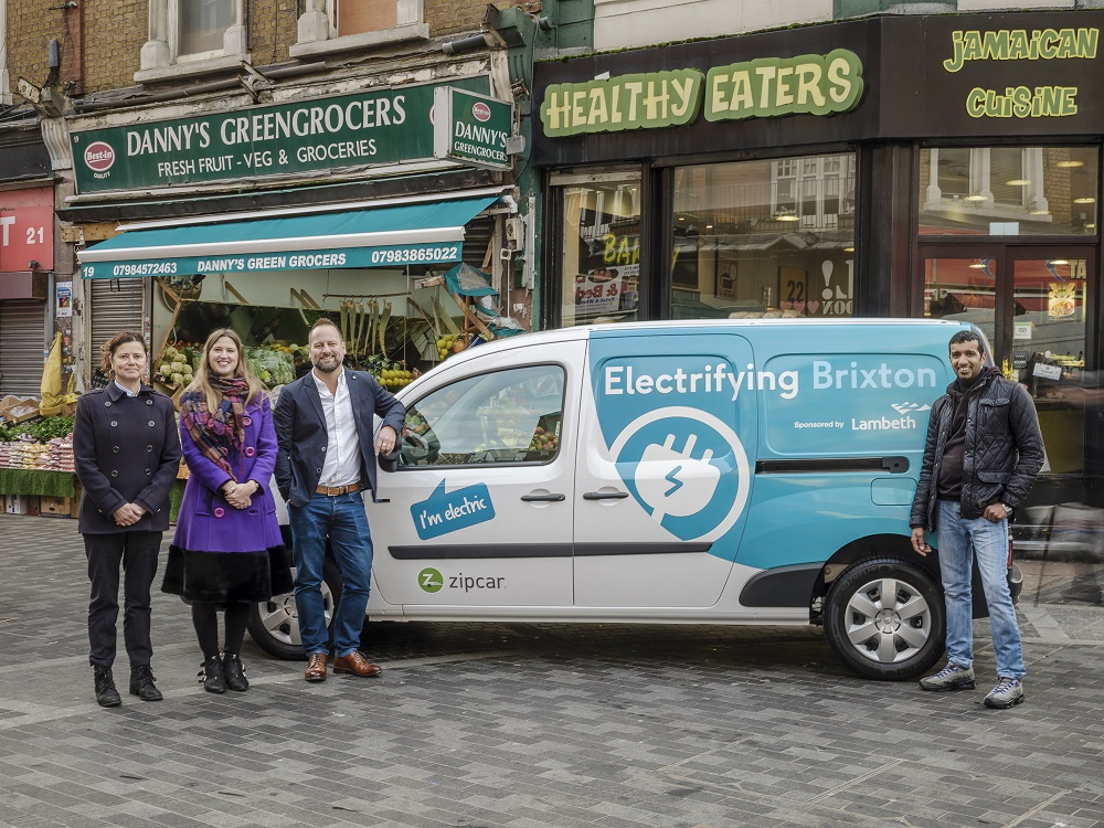 electric van sharing