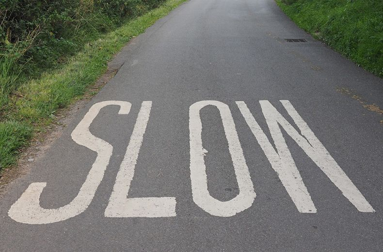 slow driving