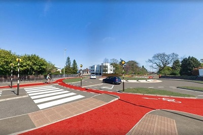 'Dutch-style' roundabout