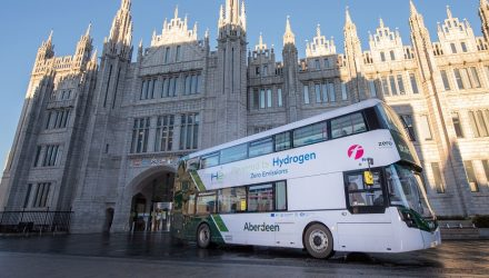 double decker hydrogen bus