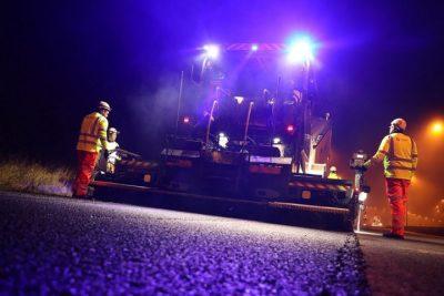 resurfacing roads