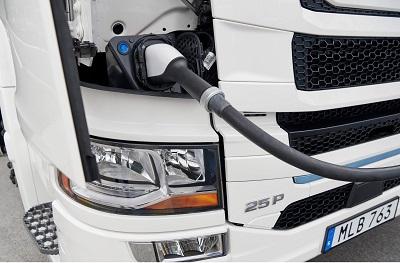 truck charging