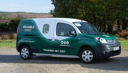 Fuel cell demonstrator vehicle