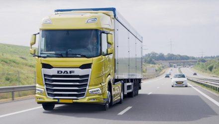 Lorry on a dual carrigeway