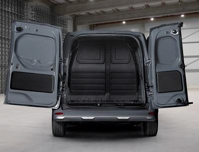 Nissan Townstar van rear doors open