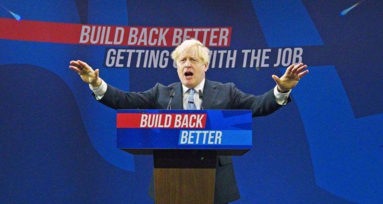 Boris Johnson's conference speech 2021
