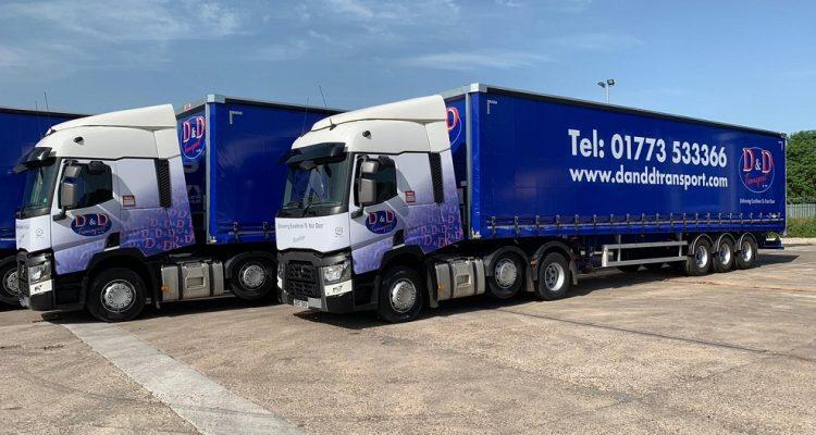D&D Transport lorries