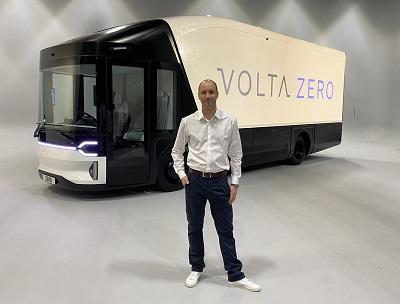 Chief Executive Officer of Volta Trucks, Essa Al-Saleh
