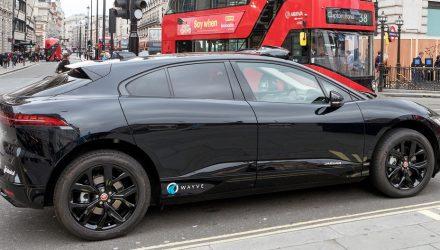 Wayve car in Central London