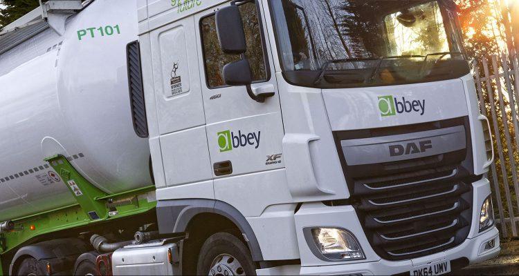 View of Abby Logistics HGV cab